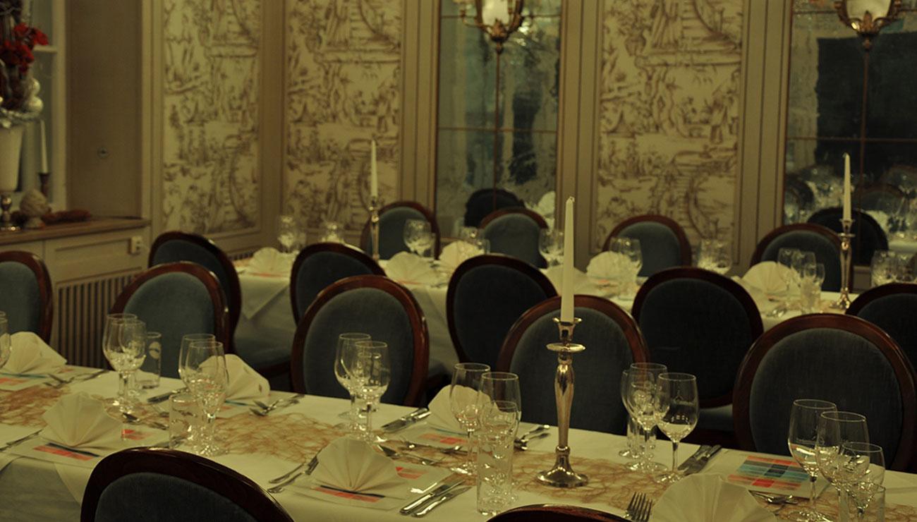 Dinner im Rausch der Sinne in der Schlosswirtschaft Schwaige, München