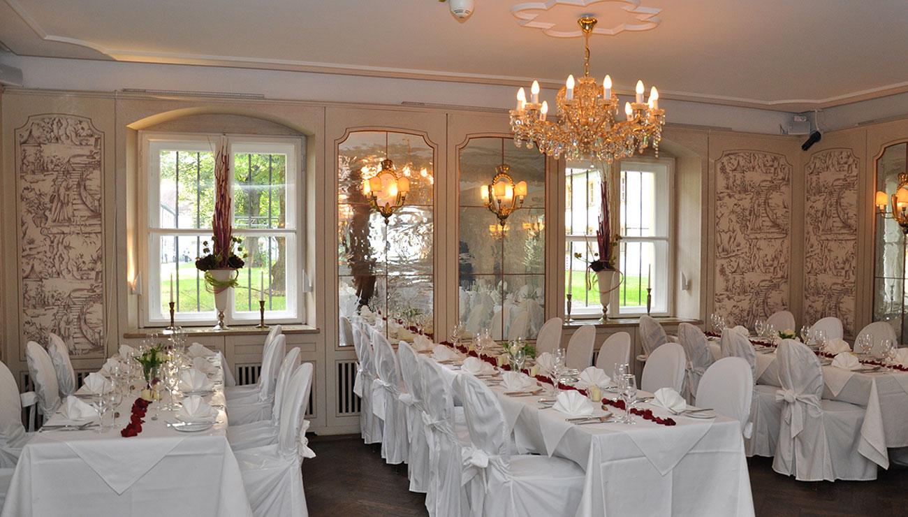 Hochzeit in der Schlosswirtschaft Schwaige, München
