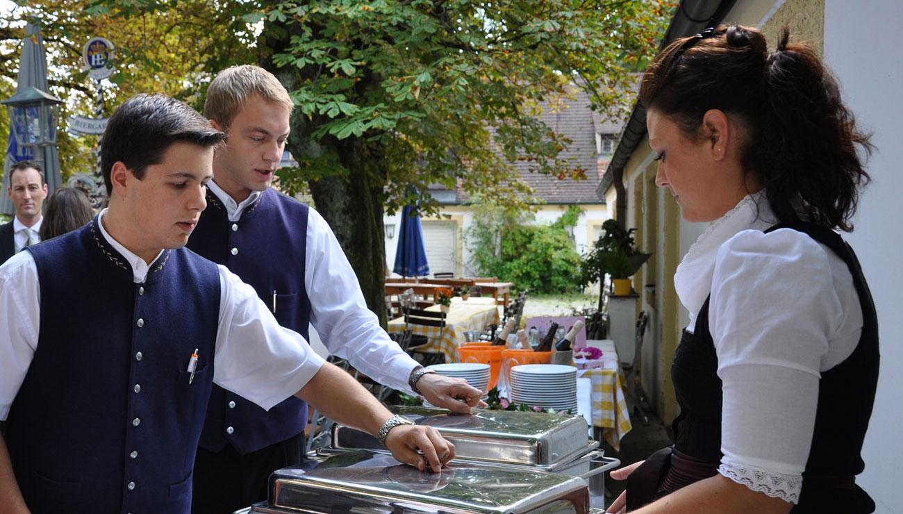 Ihre Veranstaltung in der Schlosswirtschaft Schwaige, München