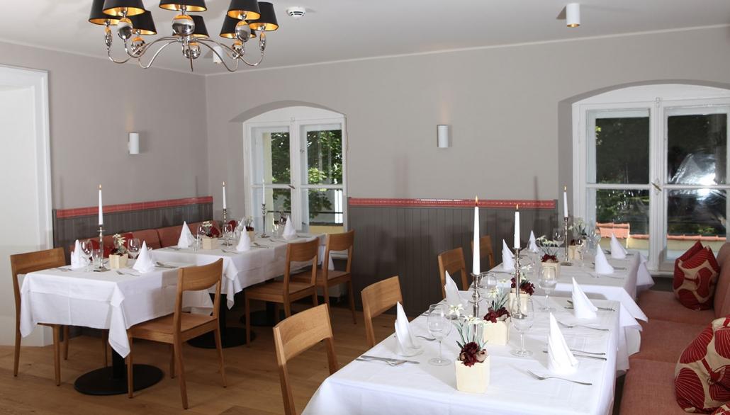 Luitpold Zimmer in der Schlosswirtschaft Schwaige, München