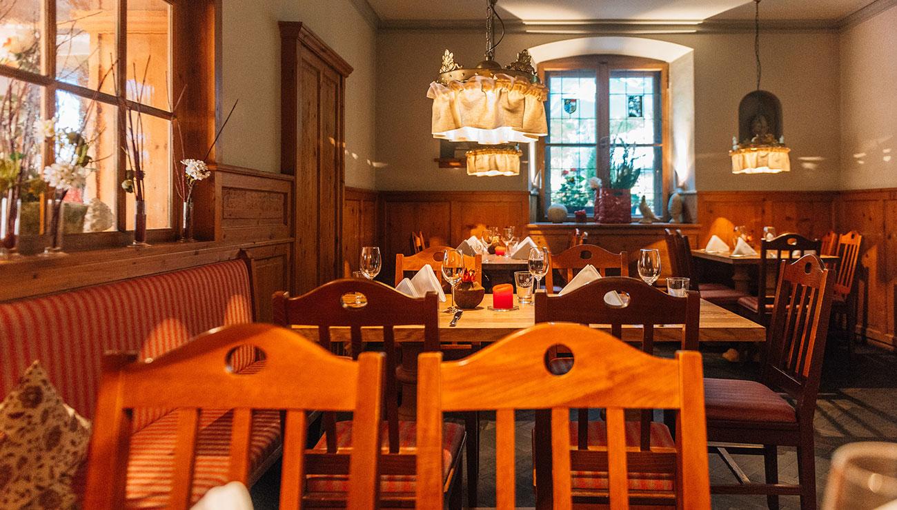 Restaurant in der Schlosswirtschaft Schwaige, München