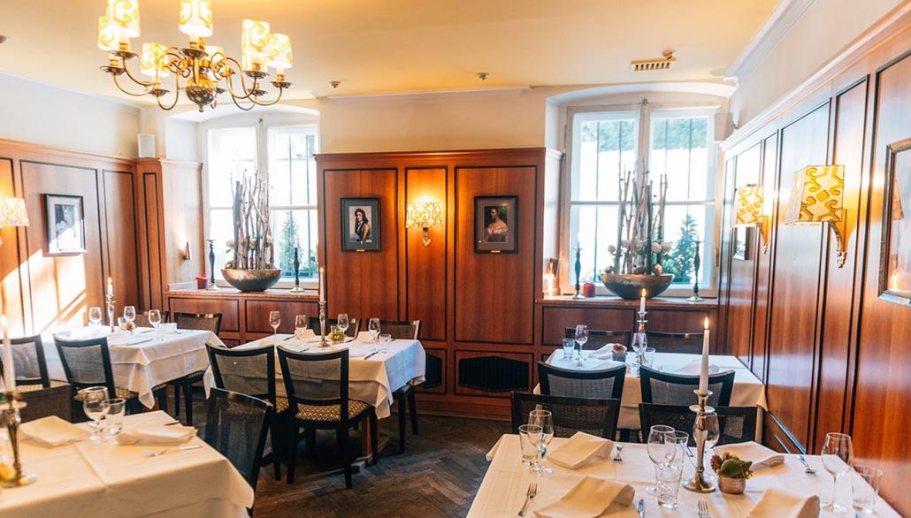 Wittelsbacher Zimmer in der Schlosswirtschaft Schwaige, München