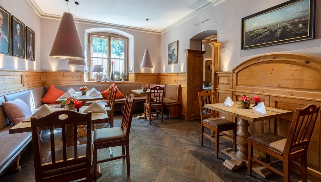 Restaurant der Schlosswirtschaft Schwaige in München